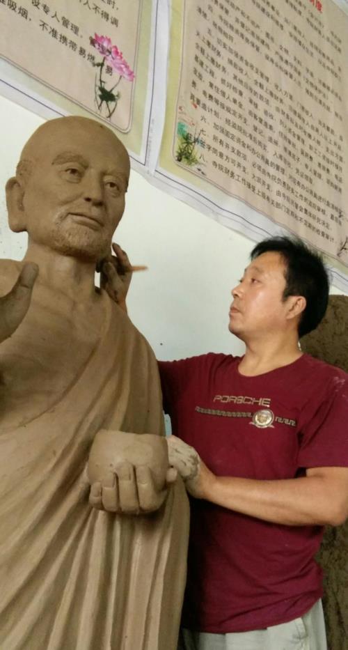 师古出新,雕绘一体——著名画家、雕塑艺术家赵修年作品欣赏