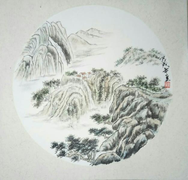 画家李荣华——上海知名男画家李荣华艺术佳作鉴赏