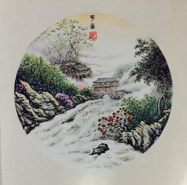 书画家郑观平:著名书画家郑观平艺术作品鉴赏