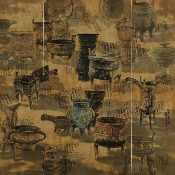 书画家王军瑞——甘肃美术家、中国硬笔书法王军瑞书画作品鉴赏