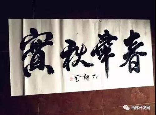 """""""吉祥书法家""""吴树林"""
