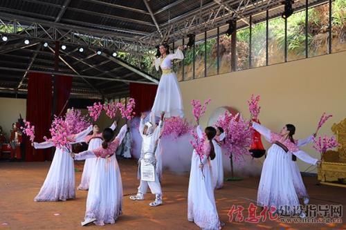 龙岩独家实景演出的大汉舞台,七彩蓝田助力华夏文明永葆青春