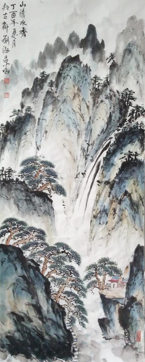 天下君临皆笔墨,造化钟情唯牡丹——画家刘海昌的艺术创作之路