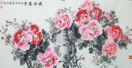 刘海昌,刘海昌作品,画家刘海昌