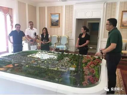 北京市顺义区投促局走访调研新华联·潮白河8号项目
