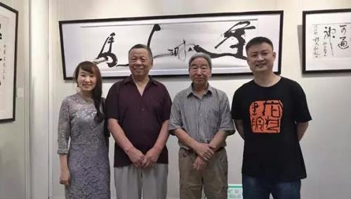 尚藝書院師生書法作品巡展----在河南當代藝術館開幕