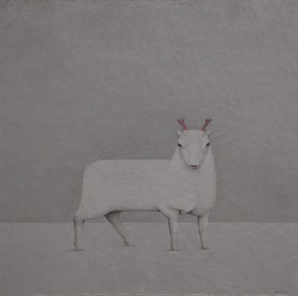 中国风融汇欧洲艺术特点,熔铸邵帆里程碑式动物肖像