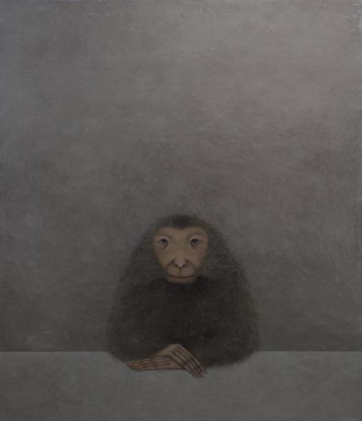 纪念碑式的动物的面孔和姿势——邵帆个展《你》开幕