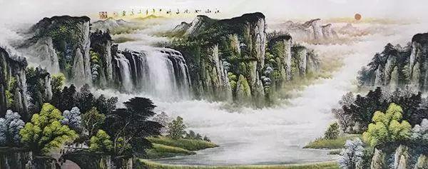 著名书画名家胡文高作品欣赏
