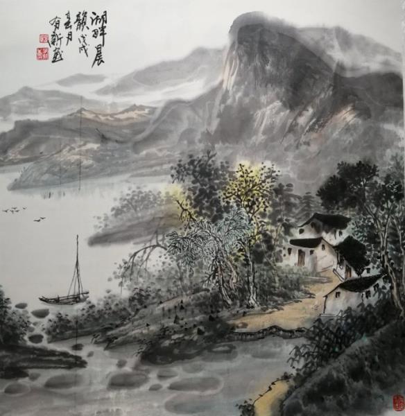 画家宋有新的峥嵘艺术历程:山峦溪壑皆雄丽,苍润游离探玄妙