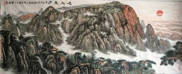 习花鸟、攻山水,画家宋有新以笔墨开辟艺术新天地