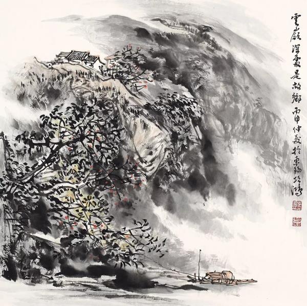 李项鸿,《云岭深处是故乡》,68cm×68cm,2016年作.webp.jpg