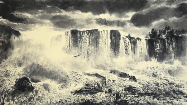 奇山势境有夷险,沟壑层云雾锁腰——画家王子锦的艺术之道