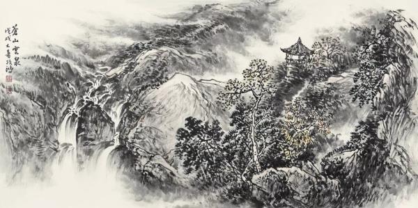 李项鸿,《苍山云泉》,138cm×68cm,2018年作.webp.jpg