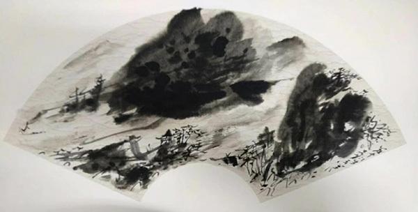 维象画派创始人吴苍耳 现代维象主义画派的人文精神。