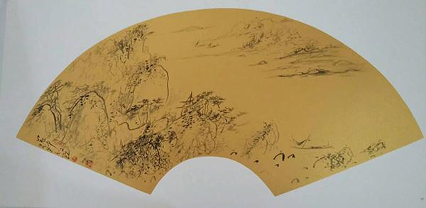 中国著名画家吴苍耳 维象画派创始人