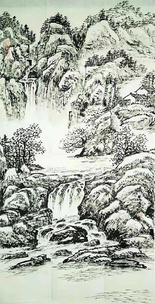 臧茂春山水画