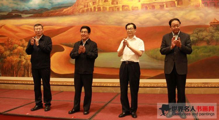 著名画家吴东魁先生捐赠助学 情系甘肃教育事业