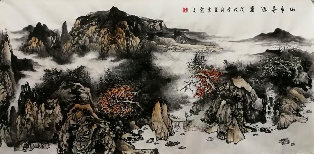 画家杨金书作品
