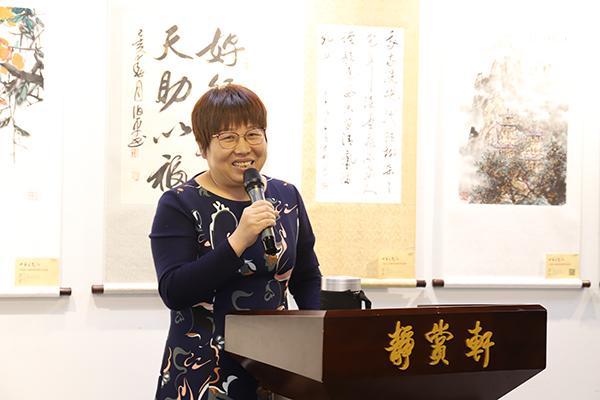 2-北京东盛残疾人公益事业服务中心陈艳娜女士致开幕辞.JPG