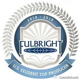 圣邁克學院成為 FULBRIGHT SCHOLARS 最多產的大學之一