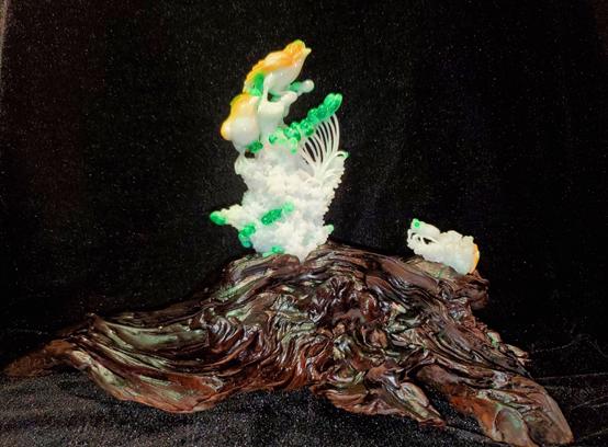 """""""壮丽70年,匠心铸玉魂"""" ——中国四会翡翠文化艺术节庆国庆玉雕精品专题展"""