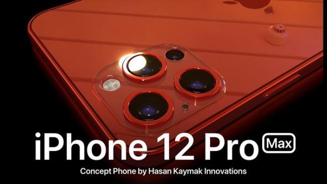 新渲染图太炫酷:iPhone 12不一定全面屏,但刘海会更小