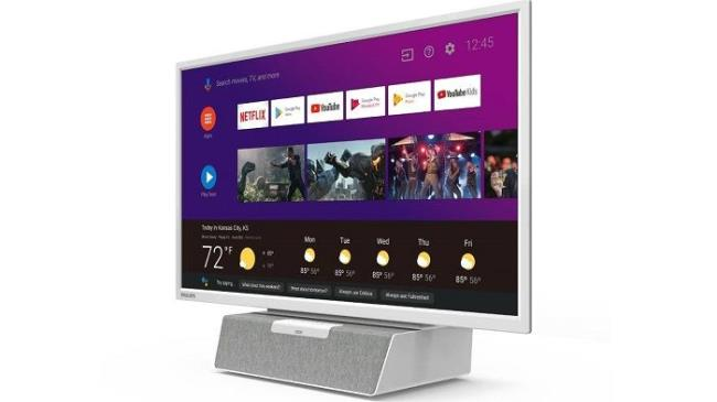飞利浦推出可放在厨房的24英寸小型智能电视 售249.99美圆