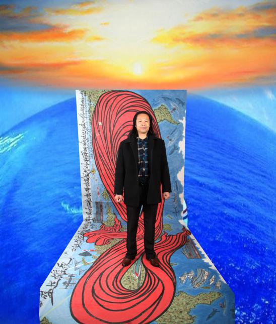 陈金辉全球实力派书画家 新形龙图创始人