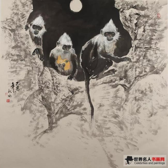 艺术人物|秋水:用画笔赋予动物人格图腾