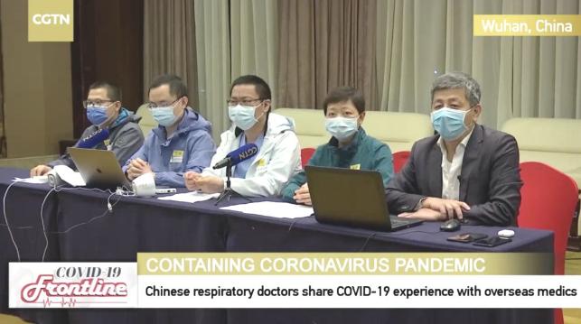 疫情无国界 | 协和专家向世界分享中国抗疫经验