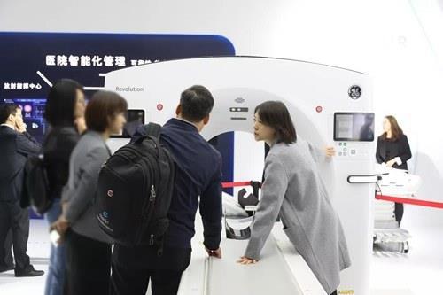 """给CT装一个""""天眼"""":GE医疗发布全新一代数字化64排CT """"Revolution Maxima"""""""