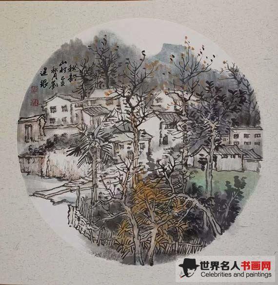 中国当代著名画家刘建银 妙手丹青秀乾坤