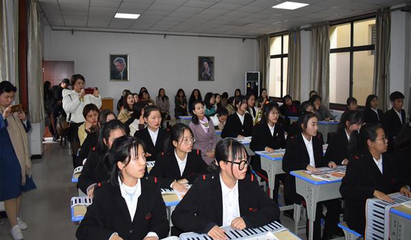 职学前教育专业教师省级培训班在西安旅游职业中专开展交流活动