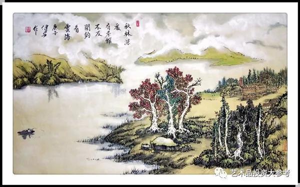 「艺术品投资大参考」推荐中国书画家冯健安