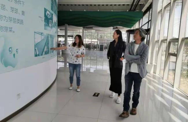 北京袈蓝文化创始人邹迎晞赴吉奥集团京承号植物工厂考察交流