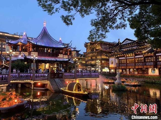 擦亮上海城市夜间文化名片 豫园文化夜经济再升级