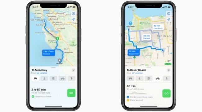 iOS 14苹果地图将辅佐驾驶者规避超速及交通摄像头