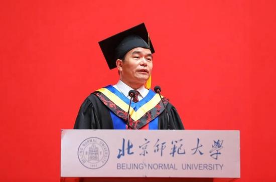 北京师范大学校长董奇:用行动打败艰难、成就人生!