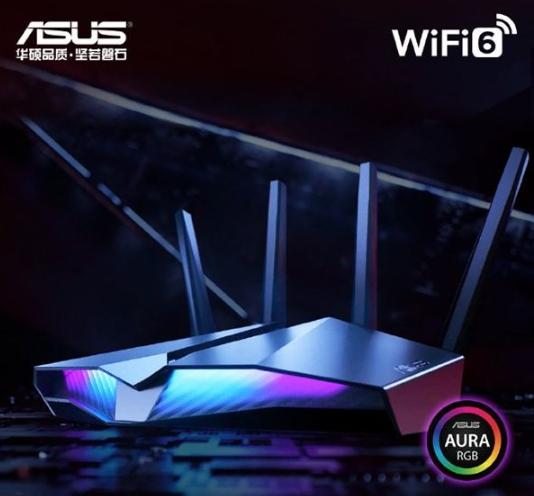 """华硕""""魔鬼鱼""""Wi-Fi 6电竞路由RT-AX82U惊艳上市"""