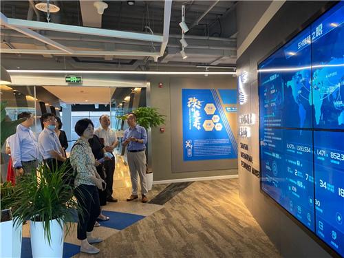 上海市商務委帶隊赴上海國際技術交易市場調研國際醫藥流通集聚區方案