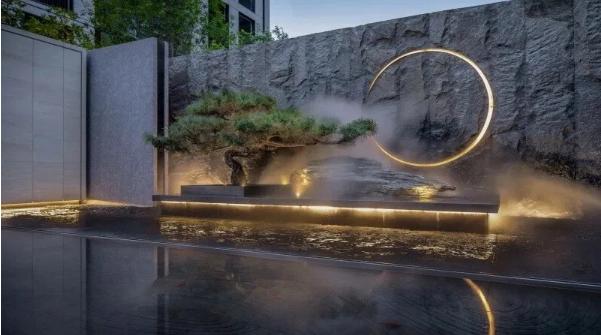 【水岸华庭】照壁,照见新中式建筑气度非凡