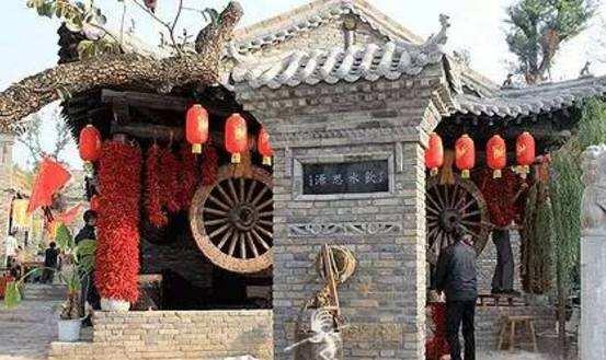 陕西旅游景点推荐:马嵬驿民俗文化村