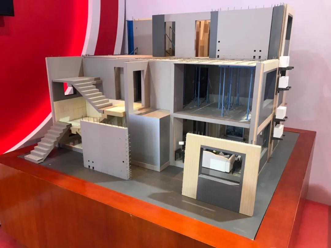 """泰豪科技装配式建筑结构体系模型亮相2020北京市国资委系统""""新产品·新技术·新应用场景""""推介会"""