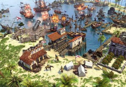 《帝国时代3:决定版》让原住民参与开发 强化文明特色