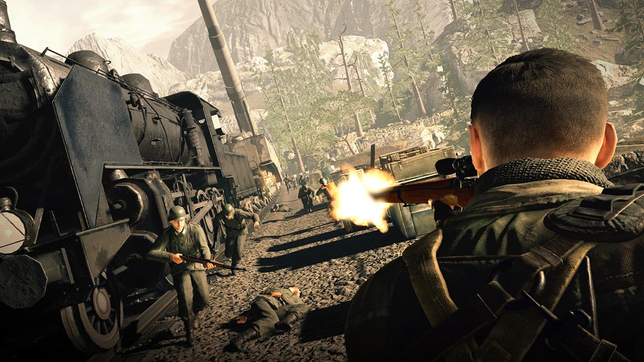 《狙击精英4》高清图片展示