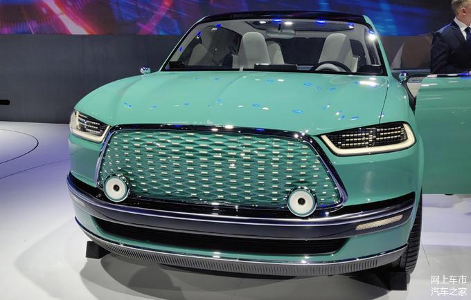 长城概念轿车潮派亮相北京车展