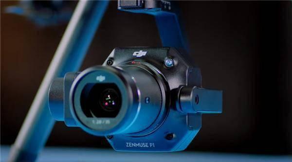 大疆全画幅航拍相机禅思P1发布:可换镜头 4500万像素