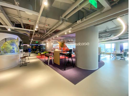 北京靈感辦公空間煥新升級 著眼未來 彰顯辦公空間設計主張新