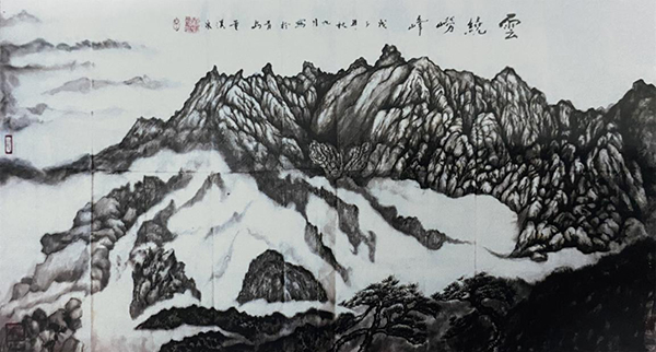 著名画家董汉泉工作室成立!!!